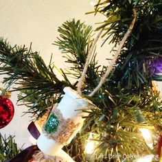Let's Drink Coffee, Darling: DIY Starbucks Cup Ornament Tutorial