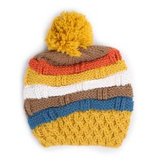 Aw 2014, Mountain Hiking, Color Stripes, Knitted Hats, Winter Hats, Beanie, Autumn, Colour, Knitting