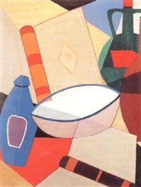 Thijs Rinsema (1877-1947)  Door zijn broer kwam hij in aanraking met Theo van Doesburg en zijn werken, waardoor Thijs Rinsema steeds meer in de richting van De Stijl en Dada begon te schilderen. Hij combineerde zijn dagelijks werk als schoenmaker met schilderen, van onder andere portretten, stillevens, bloemschikkingen en landschappen.