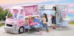 Un camping-car Barbie.
