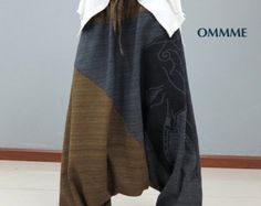 OMMME harem pants 001 by Ommme on Etsy