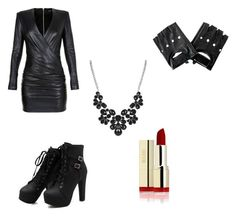 Spy outfit by awolk-1 on Polyvore featuring Balmain