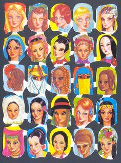 Cromos de picar Christmas Decals, Mermaid Dolls, Doodle Drawings, Paper Roses, Zentangle, Decoupage, Nostalgia, Doodles, Collage