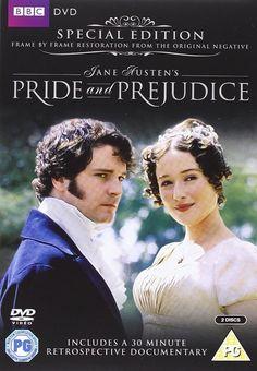 Pride and Prejudice (Special Edition) [DVD] [1995]: Amazon.co.uk: Colin Firth, Jennifer Ehle, Alison Steadman, Julia Sawalha, Susannah Harker, Emilia Fox, Anna Chancellor, Simon Langton: DVD & Blu-ray