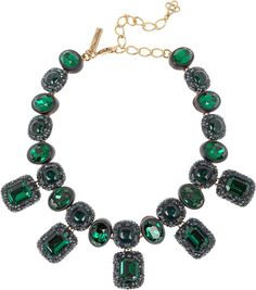 The Glitter Countdown - Oscar de la Renta necklace, $1250, net-a-porter.com.3