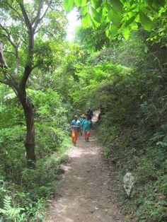 Vers  Bassin bleu, Jacmel//Jacmel est une commune d'Haïti, chef-lieu du département du Sud-Est et de l'arrondissement de Jacmel. Wikipédia