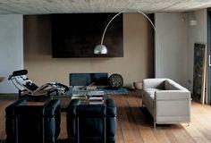 Le Corbusier furniture, designed in the 1920's -  via Pinterest