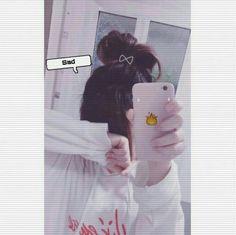 Ulzzang Korean Girl, Cute Korean Girl, Cute Girl Photo, Girl Photo Poses, Tumblr Photography, Girl Photography Poses, Purple Aesthetic, Aesthetic Girl, Aesthetic Anime