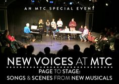 Page to Stage    Music Theatre of Connecticut    June 20