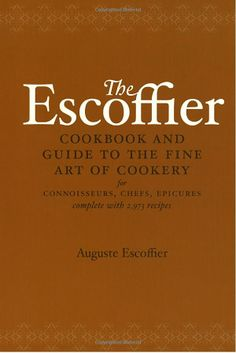 I learned about Mr. Escoffier in my classes in Culinary. He set up the 1st…