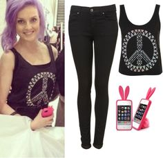 """""""Perrie Edwards Style 73"""" by nicolesamile ❤ liked on Polyvore"""