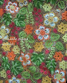 Irish crochet &: Валеева Асия - uzorchik