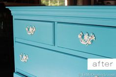 Reuse old brass drawer pulls. Covered with napkins, spray paint, and enviro-tex. seems easy enough.