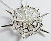 Spumellaria pendant