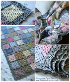 Annie's Place: Contemporary Crochet Granny Square Blanket Reveal