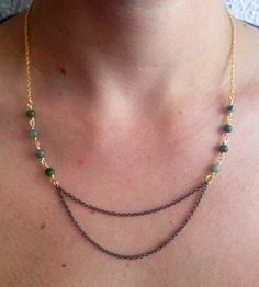 PRIMITIVE // 14k Gold Fill Wire Wrapped African by ShopParadigm, $36.00
