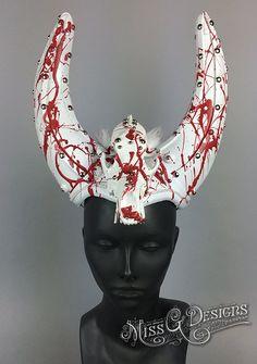 Skull Horned Headdre