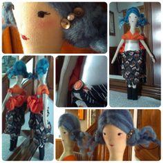 Nina, fet a mà, doll, handmade.