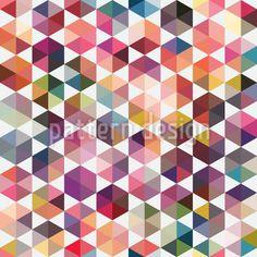 Hexagon Facetten Vektor Muster