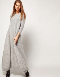 Lovely angora sweater dress
