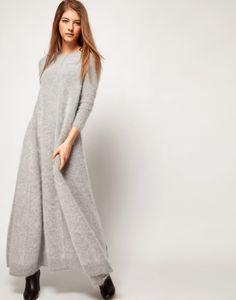 Lovely angora sweater dress