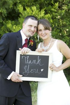 wedding - thank you card photo