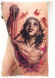PapiRouge - Tattoos von Lacy
