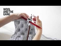 How to knit honeycomb cables. Wanna learn more? We have all the video tutorials you need over on our Wool and the Gang Wool School page: https://www.woolandthegang.com/videos #woolandthegang #woolschool