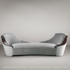 GIOCONDA Double Chaise - I so want one of these!