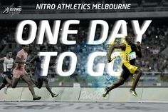 The one, the only, USAIN BOLT.  Bolt headlined the revolutionary Nitro Athletics series in Melbourne in February 2017. For Nitro Athletics.