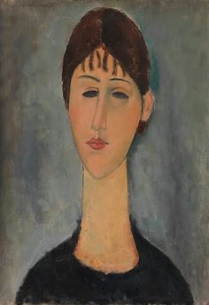 Portrait of Mme Zborowska - Amedeo Modigliani — Google Arts & Culture