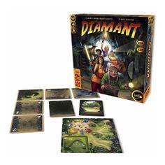 Comprar Diamant; el juego de mesa editado en castellano por Devir y creado por Bruno Faidutti al mejor precio online en EGD Games