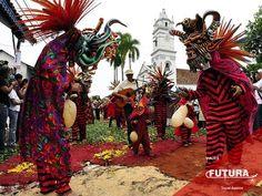 Diablicos Sucios en Corpus Christi, Las Villa de Los Santos, Panamá