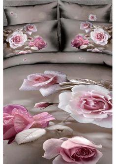 Rose 3D Nevresim Takımı