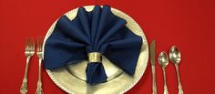 Add a special touch to your next dinner party with creatively folded napkins. Just choose a color and a pattern that you like and with these instructi...
