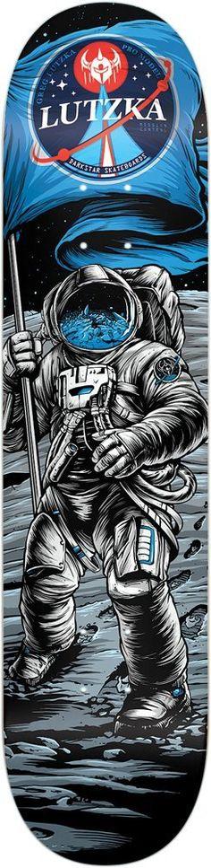 DARKSTAR LUTZKA SPACE AGE DECK R7 8 X 31.56: