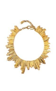 YSL Vintage Sun Necklace