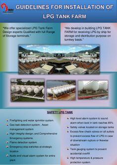 Guidelines for installation of lpg tank farm by BNH Gas Tanks via slideshare