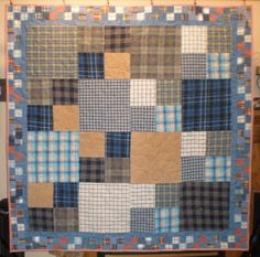 Custom Memory Quilts - Memory Quilts from Clothing                                                                                                                                                                                 More