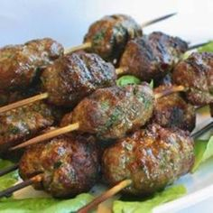 Wonderful Kofta kafta kefta Kebab Recipe [Making Tonight ~~~ Hollie] Lebanese Recipes, Turkish Recipes, Greek Recipes, Indian Food Recipes, Kebab Recipes, Lamb Recipes, Cooking Recipes, Healthy Recipes, Diet Recipes