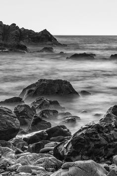 the sea by paulojorgeparreira  #black and #white #art #photography