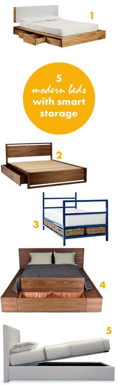 storage beds with style