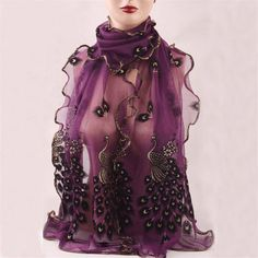 Charm scarf 2016 New Style Long Comfortable Hollow Rayon Microfiber Bohemian Scarf Wrap Fashion Print Shawl Stole For Ladies