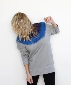 Perks and Mini - Men's Fuzz Ombre Sweatshirt, $280.00 (http://www.lustcovetdesire.com/mens-fuzz-sweatshirt/)