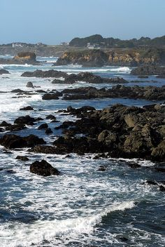 Mendocino Coast - Fort Bragg, California by OceanRudy