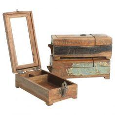 Scrapwood - Barber Shaving box