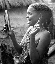 somali woman possible from afgooye, somalia 1967 — photo by virginia luling