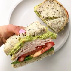 Five Healthy Sandwich Ideas for Lunch this week! Swipe and see - Five Healthy Sandwich Ideas for Lunch this week! Swipe and see Five Healthy Sandwich Ideas for Lunc - Healthy Low Calorie Meals, Healthy Meals For Kids, Easy Healthy Recipes, Healthy Cooking, Healthy Snacks, Easy Meals, Healthy Eating, Healthy Rice, Lunch Recipes