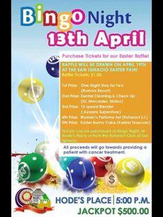 Rotaract Bingo Sunday - Easter Edition
