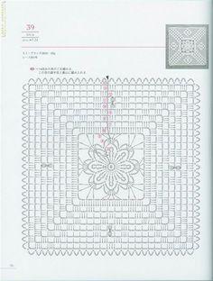 Lacework diseño floral 100 | hacer a mano, ganchillo,
